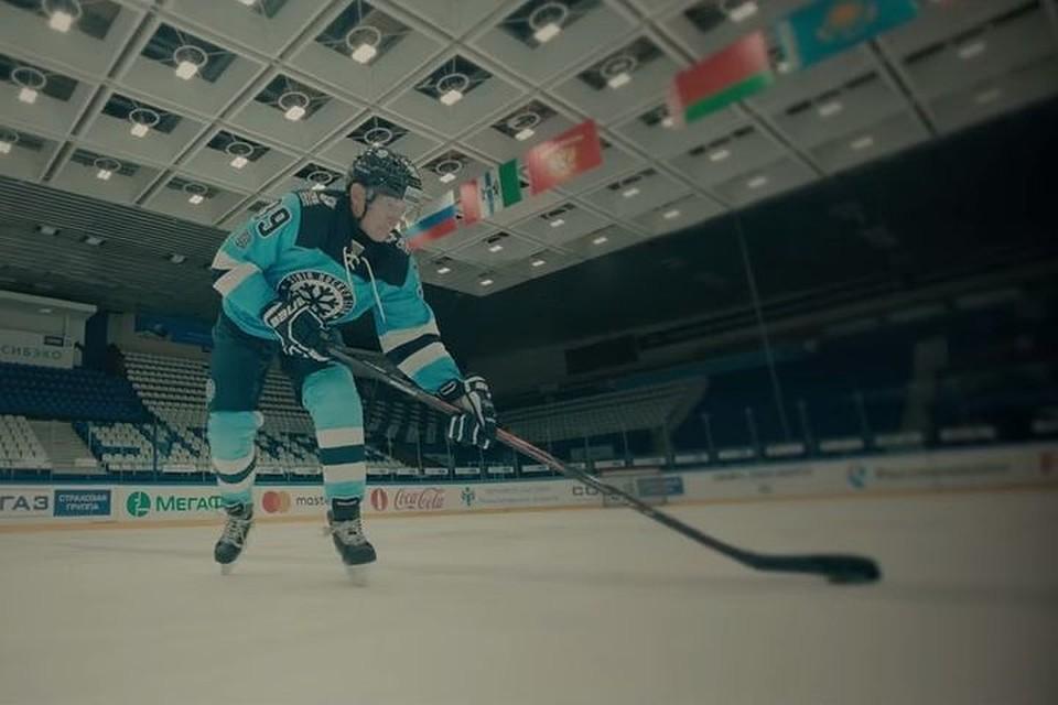 ХК «Сибирь» выпустил трогательный клип вчесть юбилея светеранами
