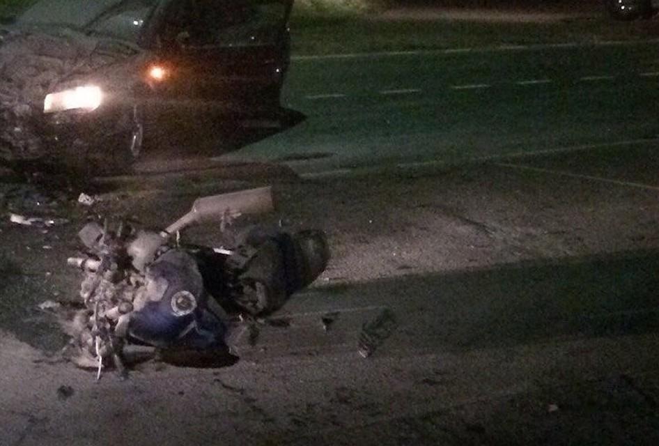 ГИБДД: вДТП сучастием мотоцикла вСоветске умер  четырнадцатилетний  пассажир