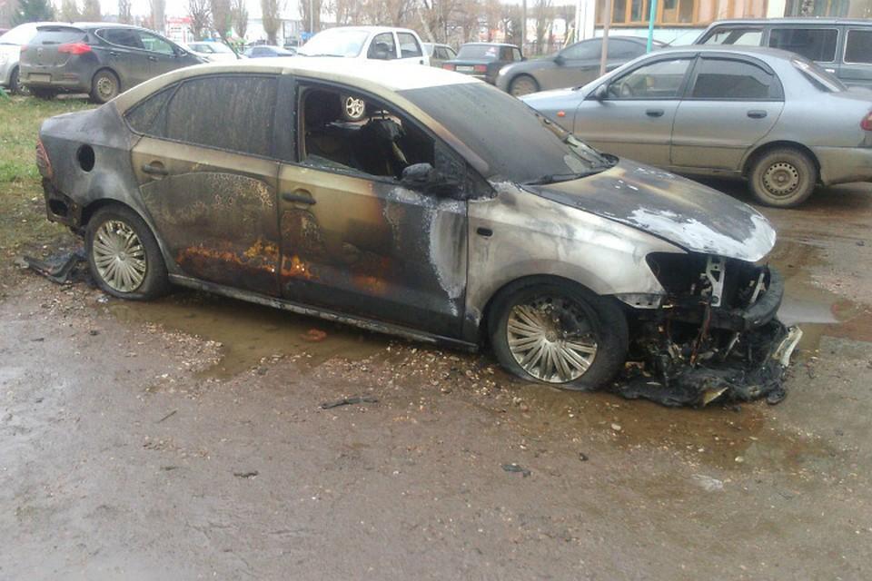 Из-за поджогов три автомобиля сгорели водин день вБашкирии