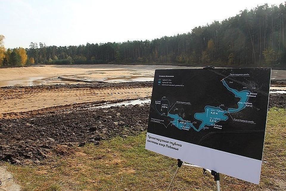 Осушенное озеро Лебяжье могут на100% заполнить водой уже кконцу ноября