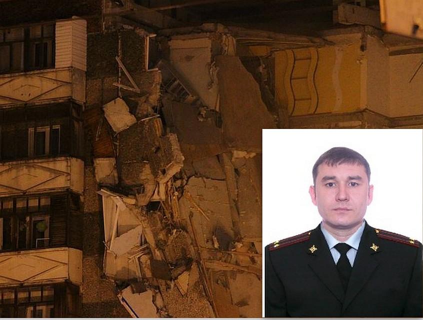 Подполковник милиции умер при обрушении дома вИжевске