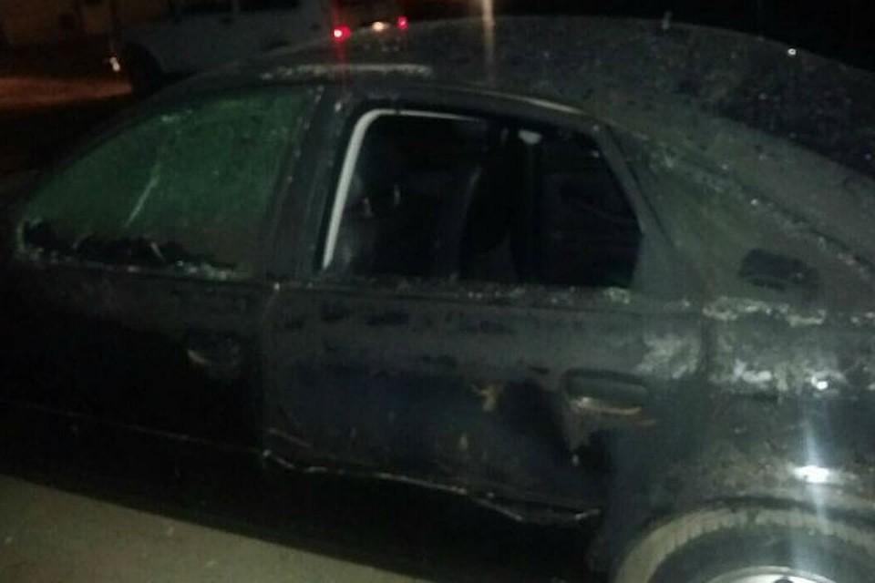 Автомобиль Ауди сгорел вовремя пожара наавтомойке вИркутске