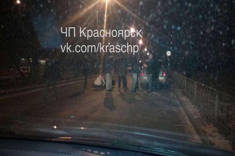 ВКрасноярске шофёр сбил 13-летнюю девочку и исчез