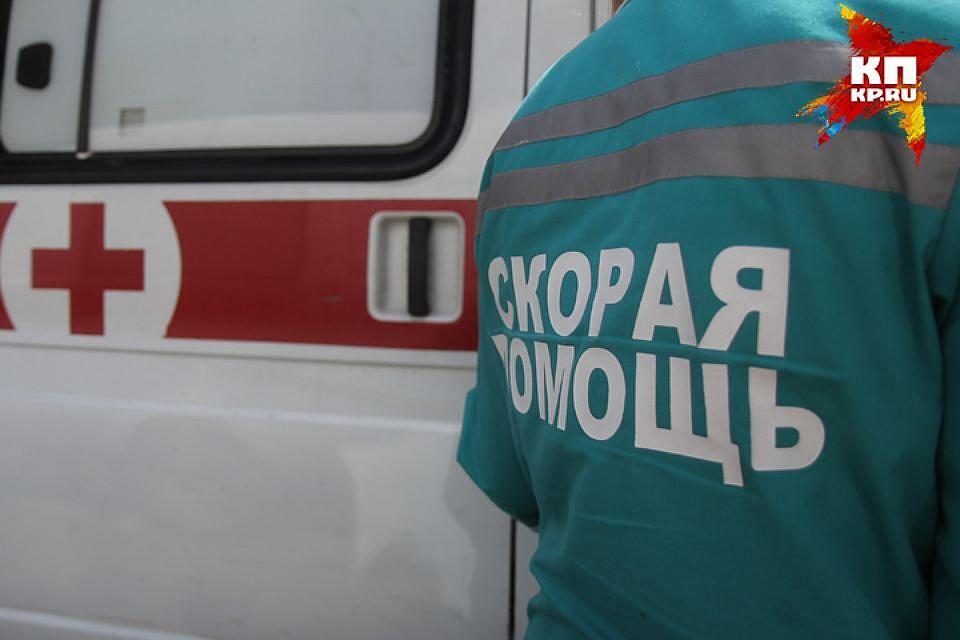 ВКузбассе женщина выжила после падения с5-го этажа