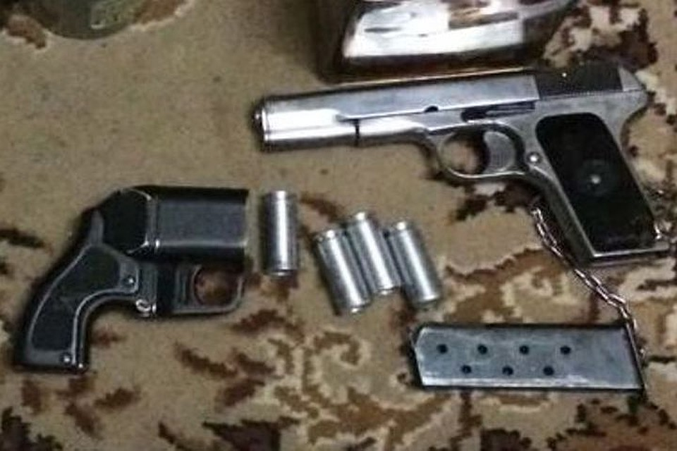 Силовики изъяли арсенал оружия ивзрывчатки упенсионера вНовосибирске