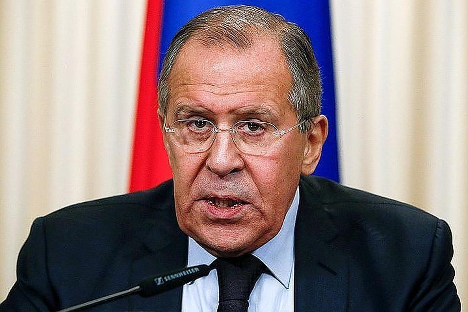 Лавров прокомментировал обвинения вадрес РФ овмешательстве вкаталонский кризис