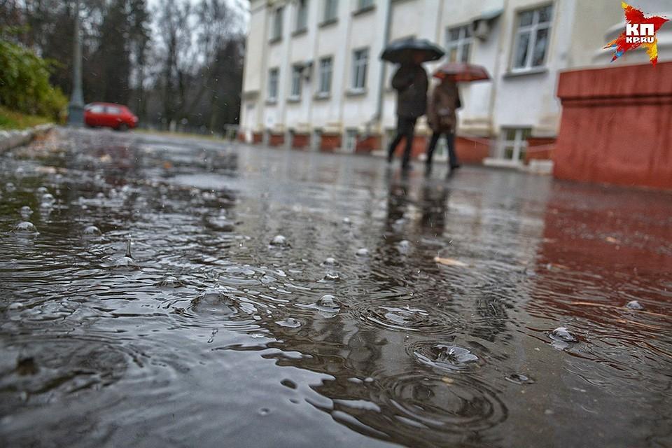 Погода принесла в столицуРФ  «циклоническую депрессию», синоптики рекомендуют  «подбадривать себя»