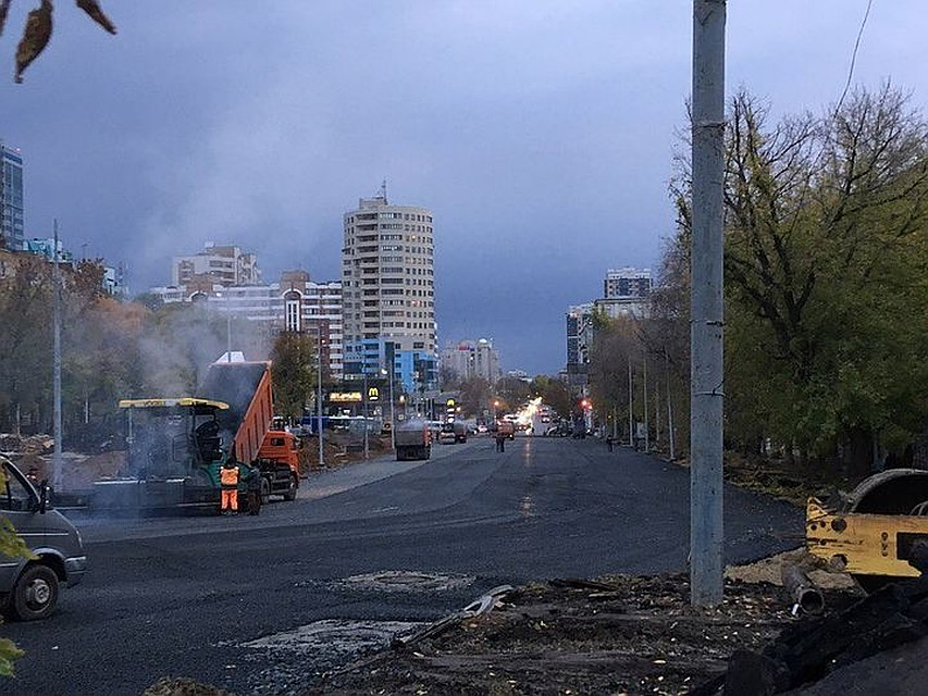 Движение поНово-Садовой отПервомайской доПолевой откроют не ранее декабря