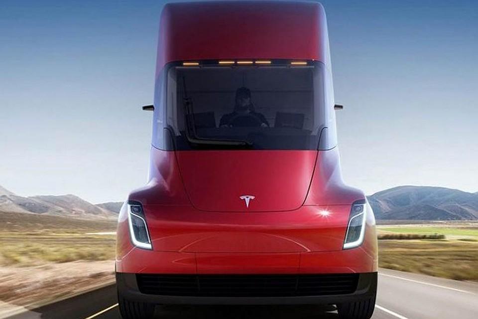ВСША электротягач Tesla Semi будет чуть дороже дизельных аналогов