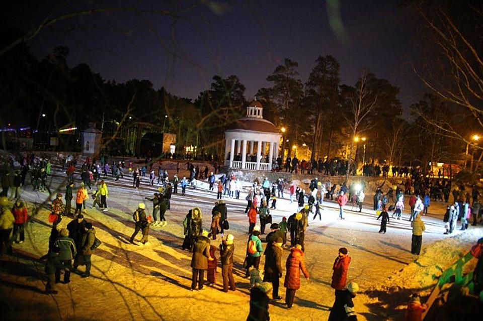 Челябинцев приглашают вгородской парк на торжественное представление