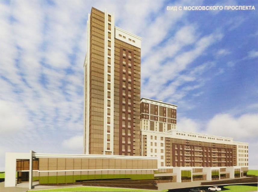 Вместо долгостроя наМосковском проспекте вЯрославле могут появиться жилые дома