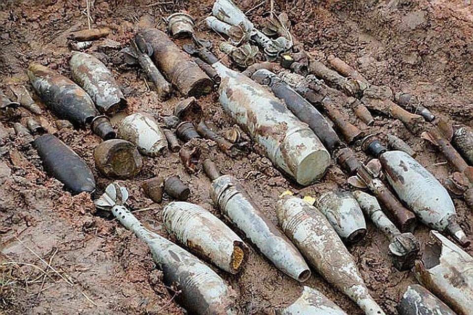 ВРостове иШахтах отыскали боеприпасы времен ВОВ