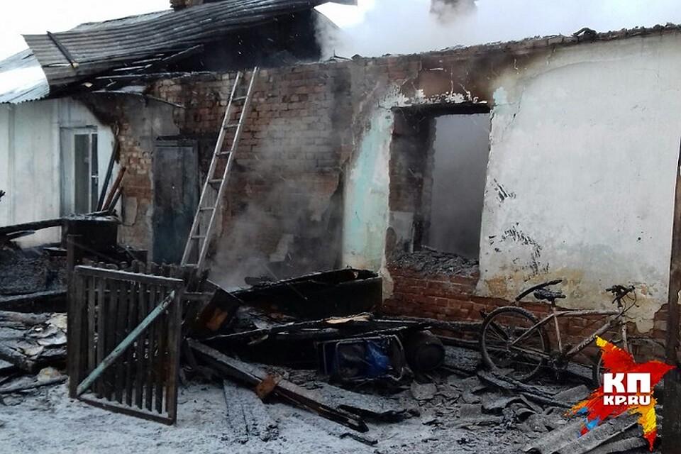 ВНовосибирской области жертвами пожара стали 5 детей