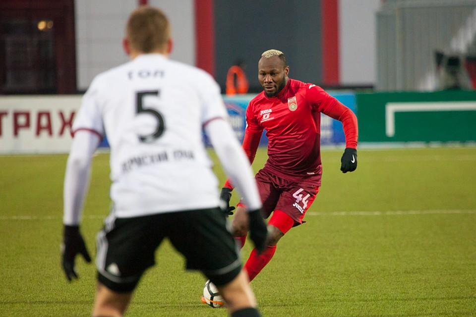 Гаджиев: «Амкар» играл вдворовый футбол вовтором тайме матча с«Уфой»
