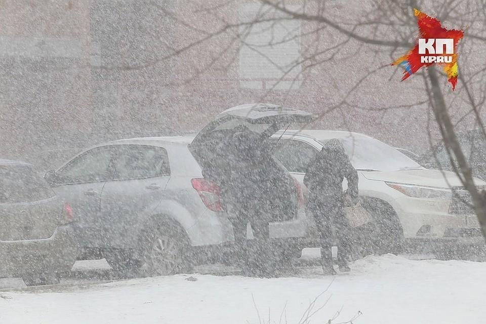 ВКрасноярском крае вероятны порывы сильного ветра иметель
