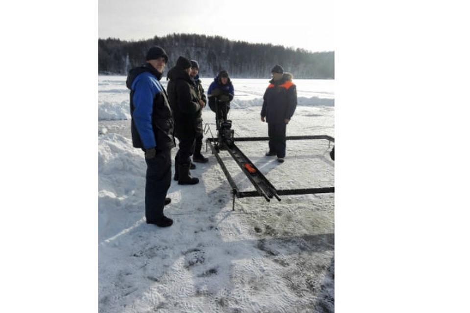Иркутская компания заплатит штраф заизъятие льда наАнгаре