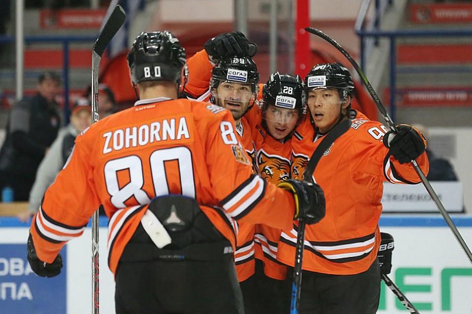 «Амур» взял реванш у«Куньлуня»— Чемпионат КХЛ