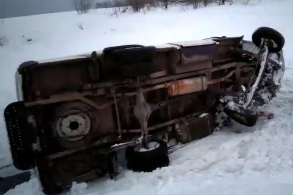 ВДТП смикроавтобусом под Кемерово пострадали десять человек
