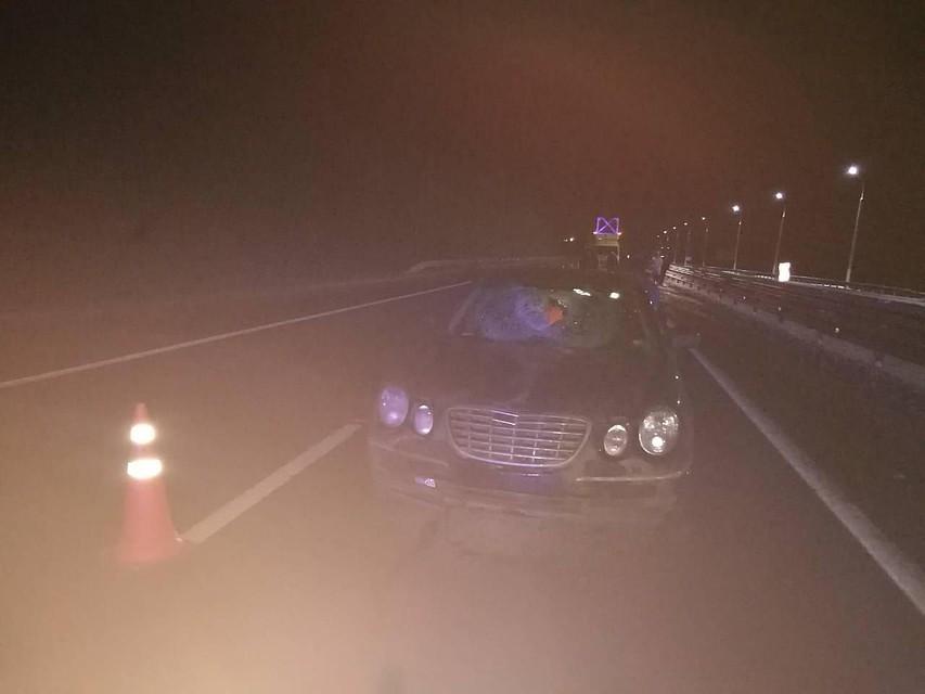 ВТульской области умер пешеход, переходивший дорогу внеположенном месте