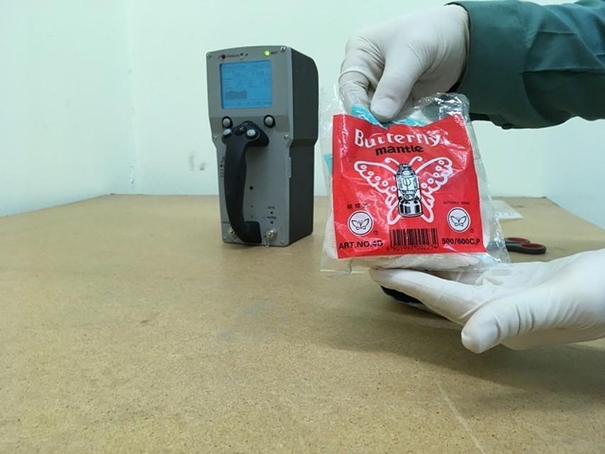 Радиоактивные фитили изКитая задержали ваэропорту Кольцово вЕкатеринбурге