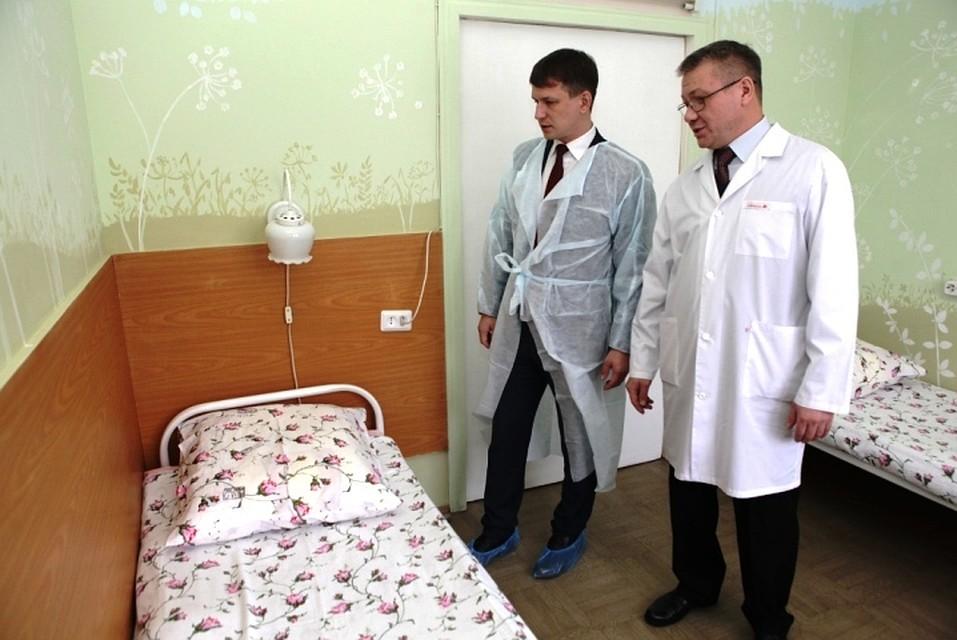 Вярославской клинике №2 организована палата для детей, больных муковисцидозом