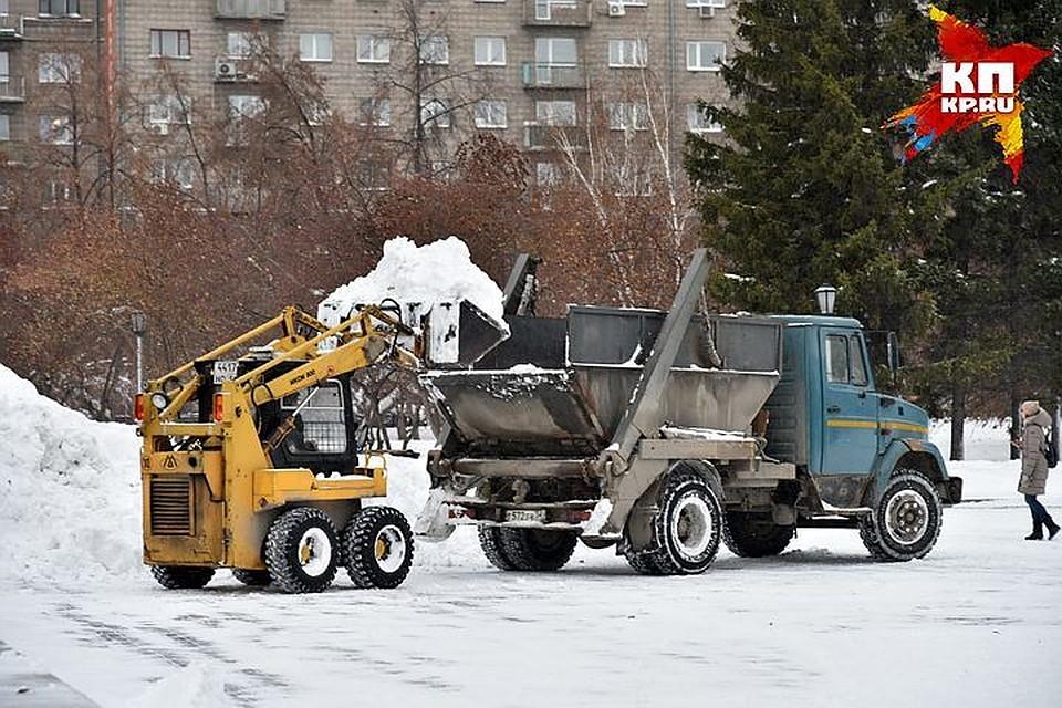 Ежедневно снег вКазани убирают неменее 500 единиц техники