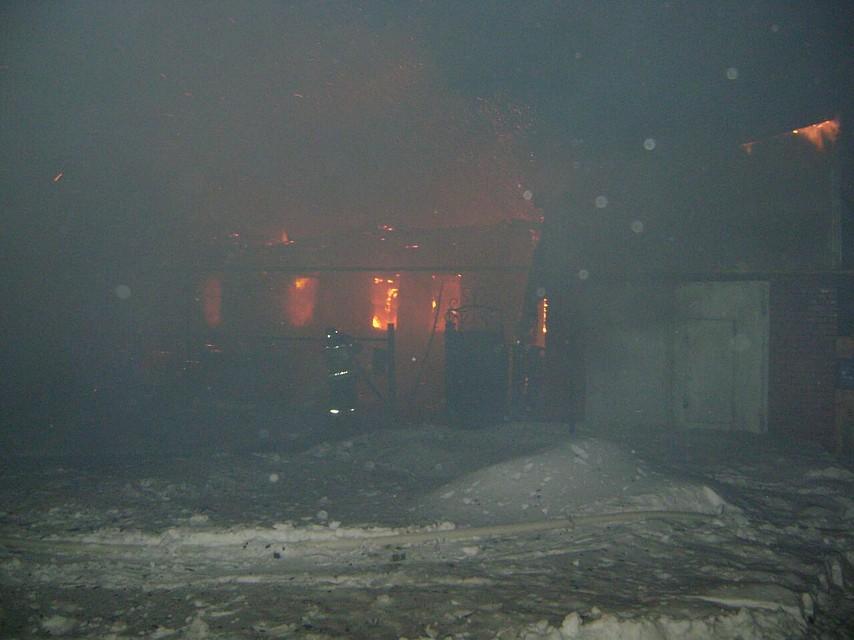 Обгоревшие тела 3-х человек обнаружили после пожара вБашкирии