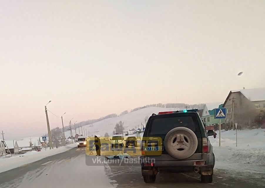 ВБашкирии пешехода насмерть сбили напешеходном переходе