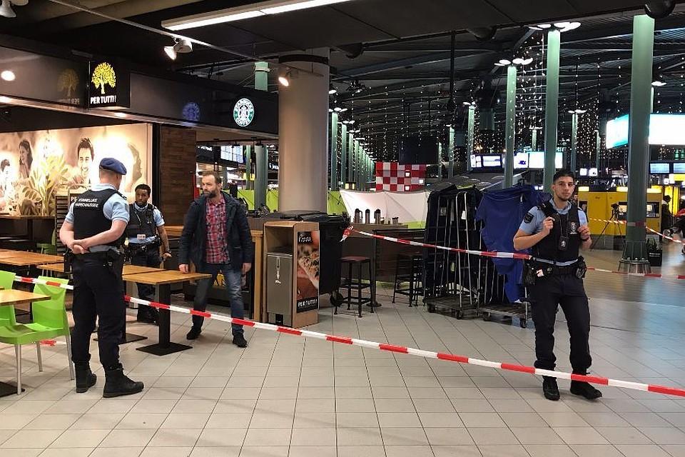 ВАмстердаме милиция застрелила вооруженного ножом мужчину