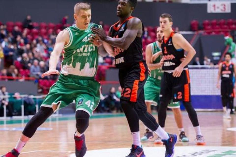 УНИКС одержал победу над хорватской «Цедевитой» вматче баскетбольного Еврокубка