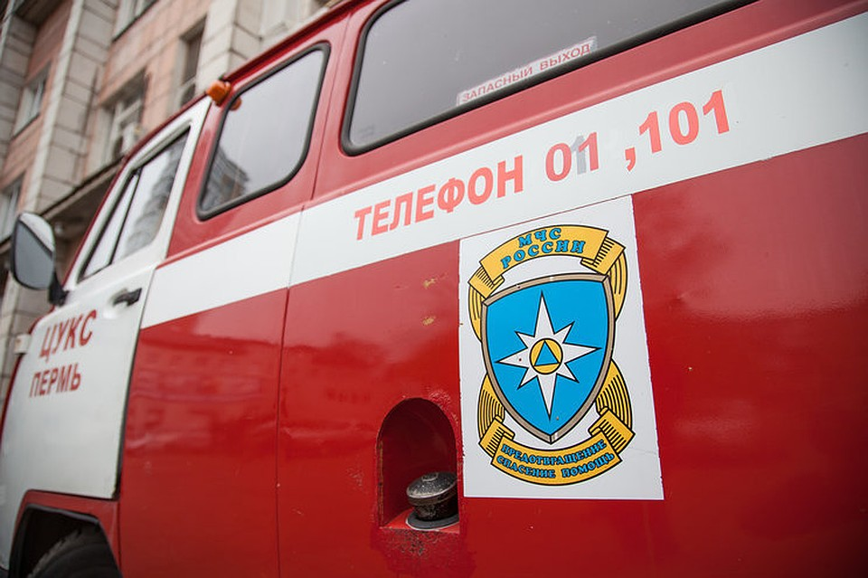 ВПерми спасли 2-х человек изпожара вмногоэтажке