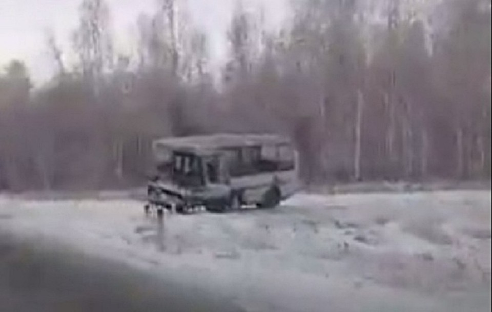 ВДТП савтобусом под Челябинском попали два десятка человек, один умер