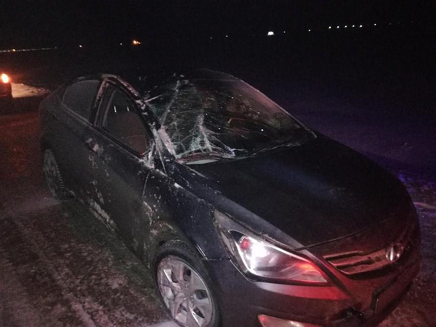 Накрымской автотрассе машина улетела вкювет: пострадал шофёр