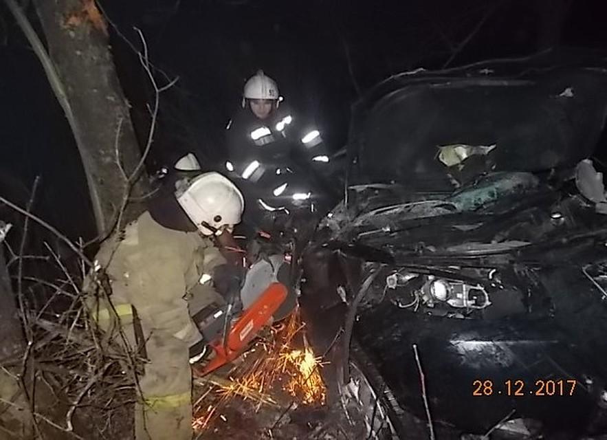 Ужасное ДТП под Богородицком: один человек умер, трое пострадали