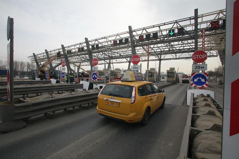 Утром 5-ого января Петербург атаковали пробки
