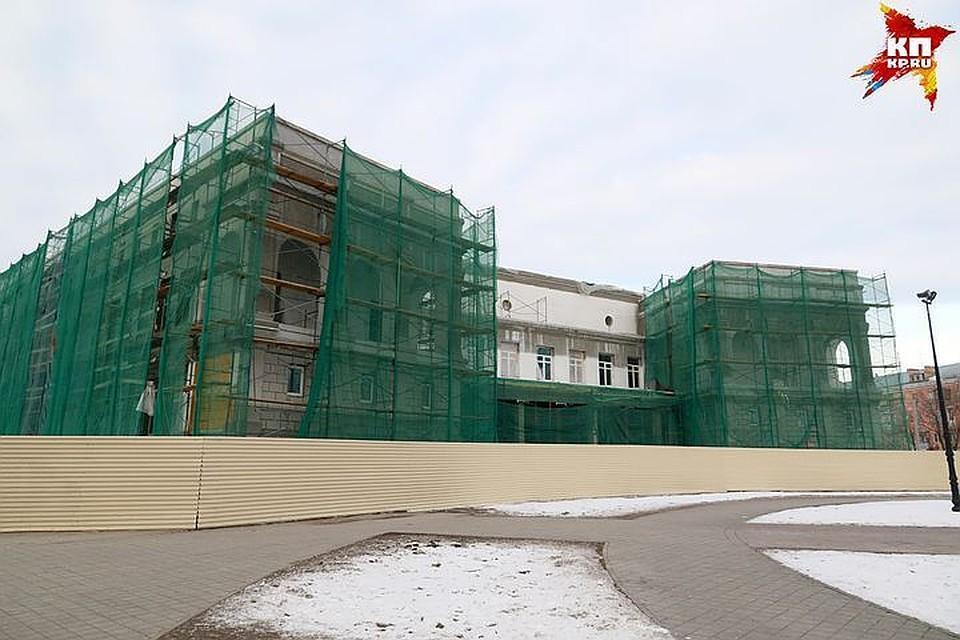 Надостройку художественного музея вБарнауле выделено 160 млн