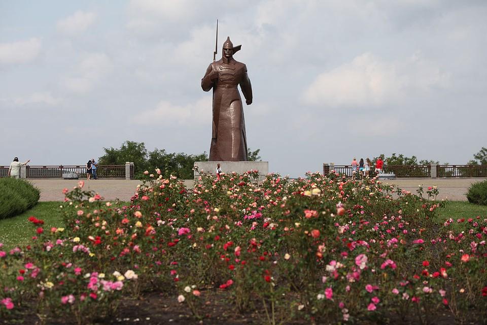 Общая площадь зелёных насаждений Ставрополя возросла  неменее , чем на5 гектаров