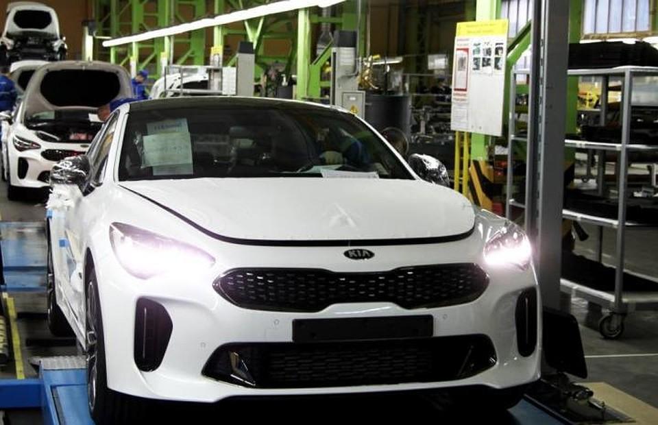 На «Автоторе» стартовало производство нового фастбека Киа Stinger