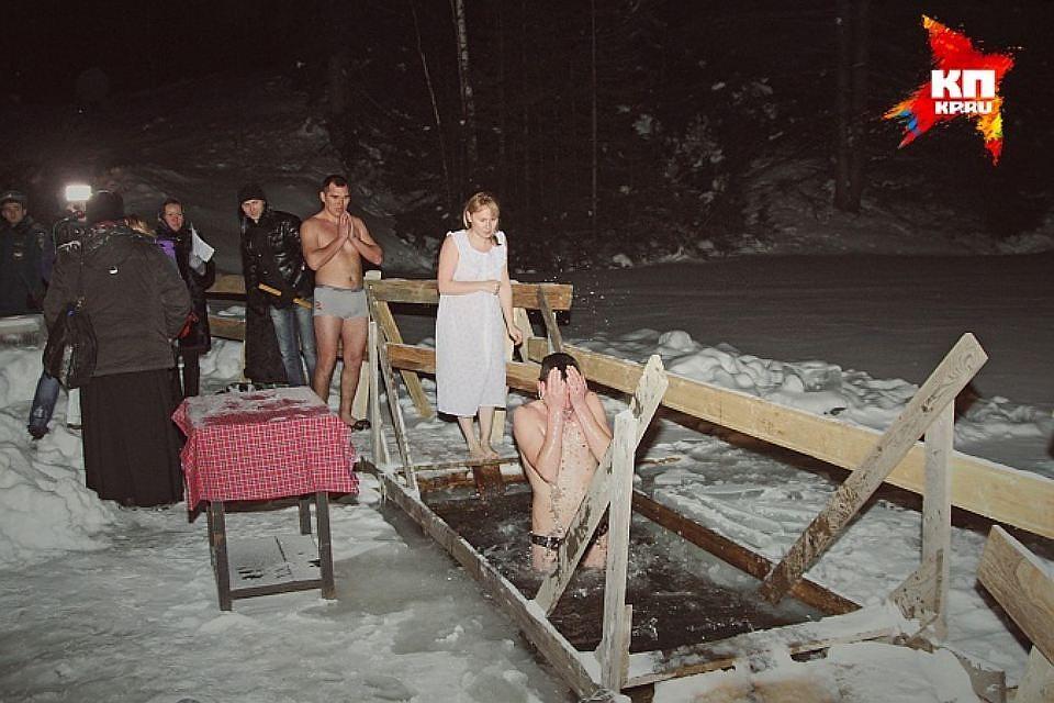 Вночь наКрещение вУдмуртии похолодает