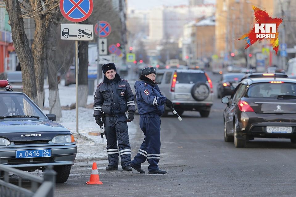 Названо число сокращаемых вКрасноярском крае служащих ГИБДД