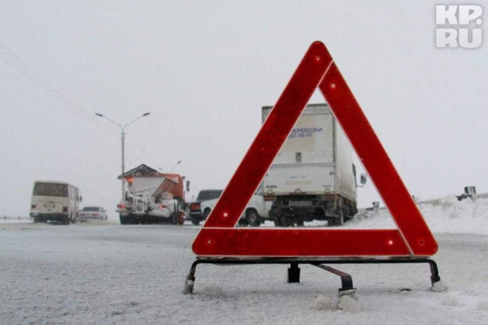 Массовая авария с6 автомобилями произошла под Ростовом