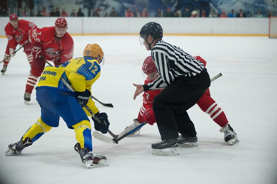 Ошеломительной победой хоккейного клуба «Ростов» завершился матч скомандой Набережных Челнов