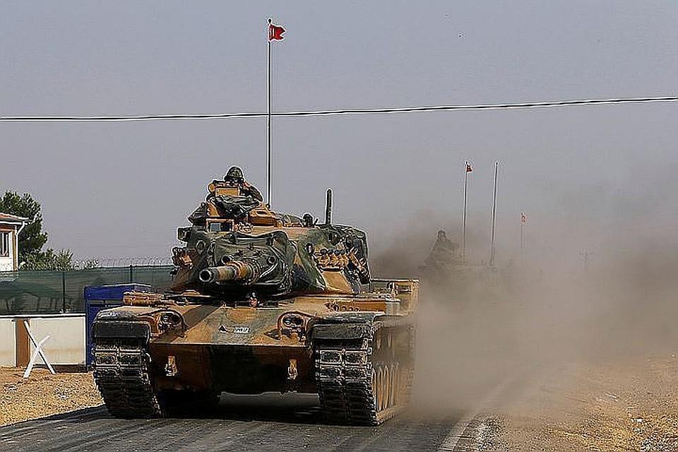 Генштаб Турции проинформировал, что вАфрине поражены 108 целей из113 намеченных