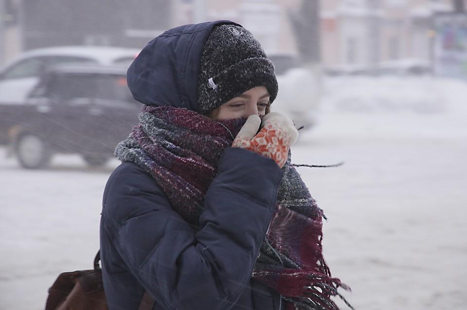 Понедельник в столице стал самым холодным днем сначала зимы