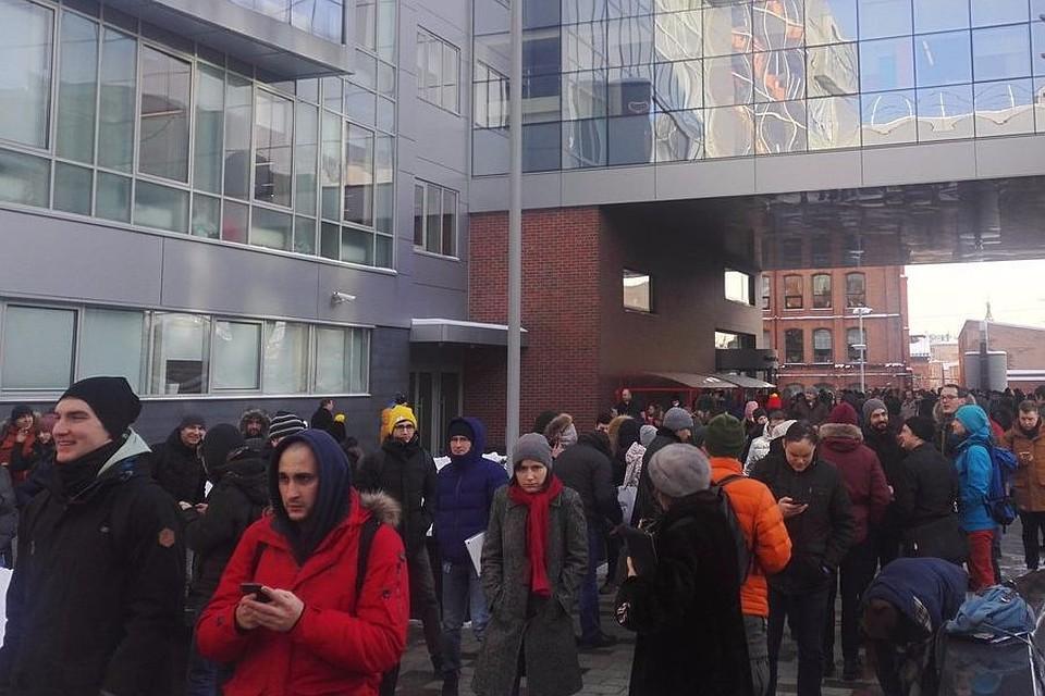 В российской столице, Екатеринбурге иСанкт-Петербурге эвакуировали кабинеты «Яндекса»