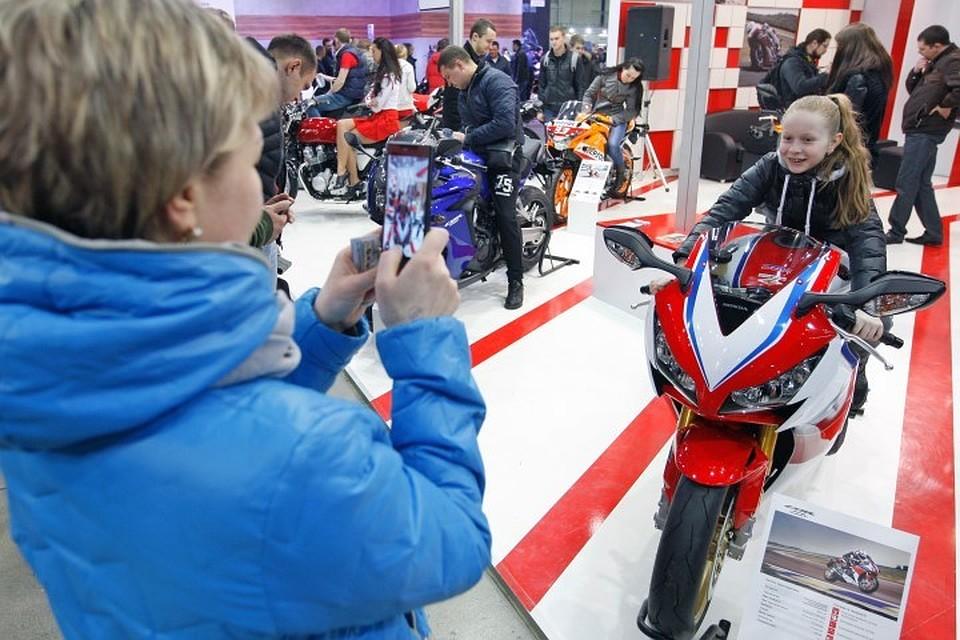 Российский рынок мотоциклов сократился на 37