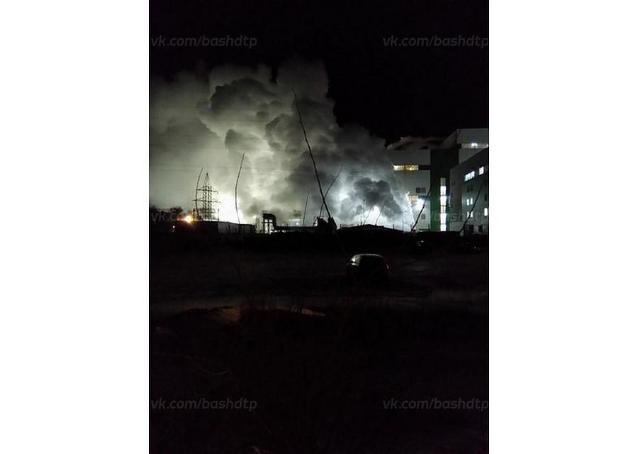 Уфимцев напугал огромный столб пара над ТЭЦ-5 вЗатоне