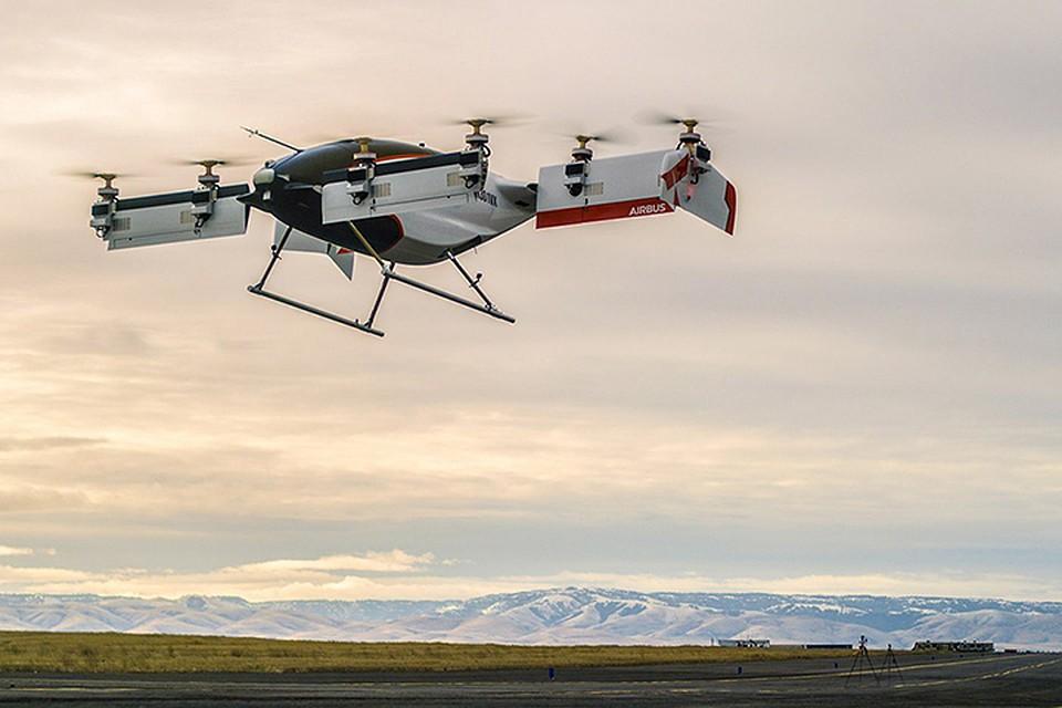 Vahana из концептуального эскиза на салфетке превратился в полномасштабный самолет