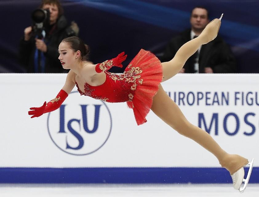 Алина Загитова- действующая чемпионка Европы