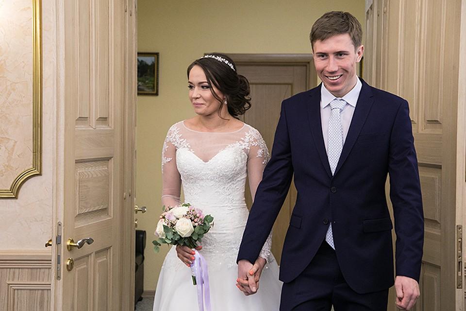 Спортсмены Денщиков иПотылицына поженились перед отлетом наОлимпиаду